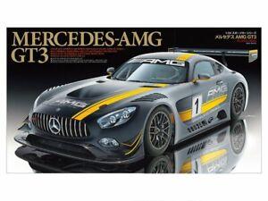 TAMIYA-MERCEDES-AMG-GT3-1-24-Sports-car-series-No-345-Kit-JAPAN-OFFICIAL-IMPORT