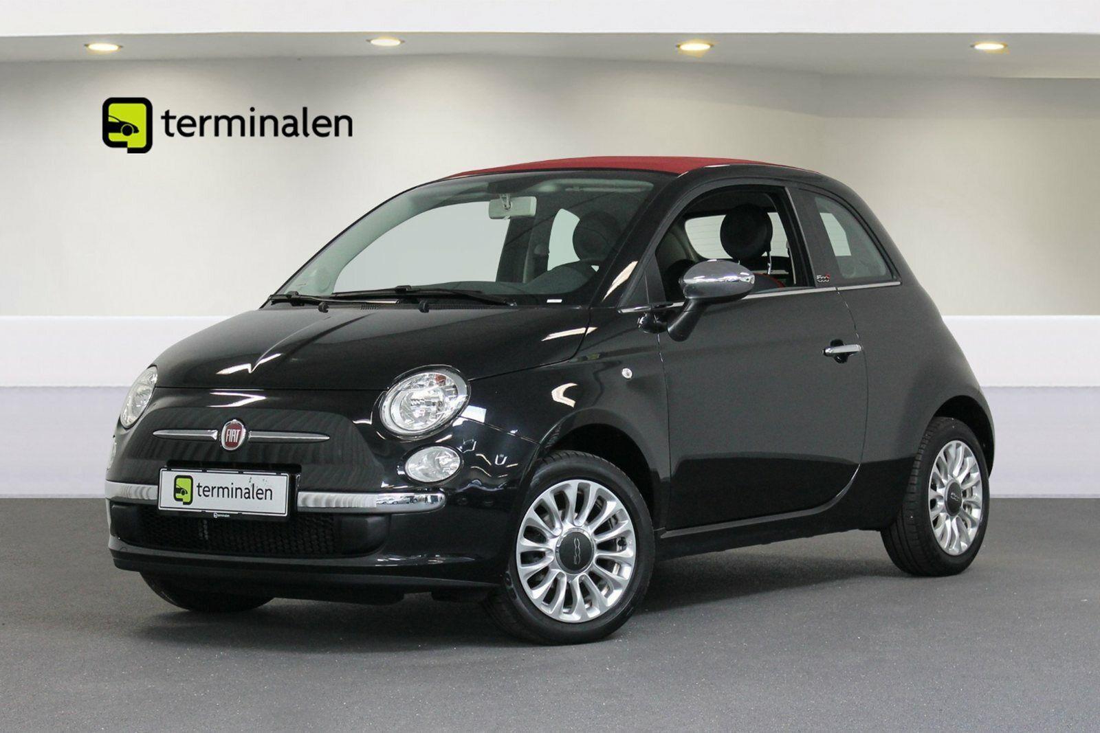 Fiat 500C 1,2 Popstar 2d - 99.700 kr.
