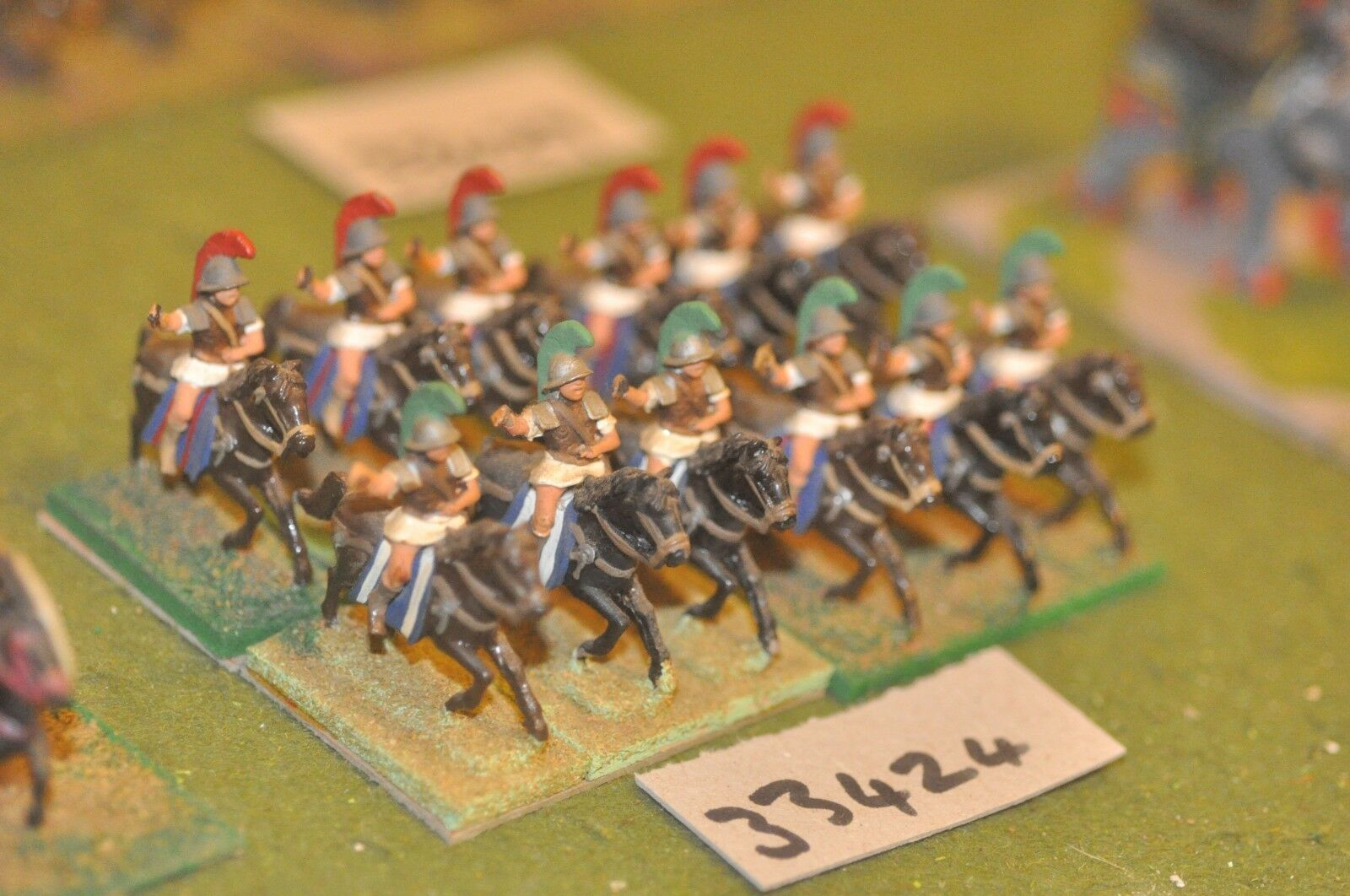 25mm classical   greek - heavy 12 figures - inf (33424)