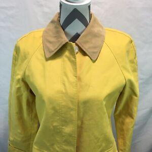 Isaac Mizrahi Yellow Collared Jacket/Coat Target 20th Anniversary New Small
