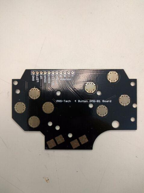 Gameboy DMG-01 4 button PCB DIY Pi Zero