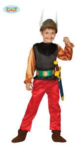GUIRCA-Costume-vestito-Asterix-carnevale-bambino-mod-8273