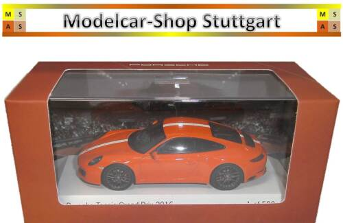 Porsche 911 Orange tenis Grand Prix 2017 Limousine Edition 500 Spark 1:43 wax02020026