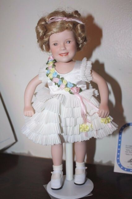 Shirley Temple Movie Classics Baby Take A Bow Doll 10 5