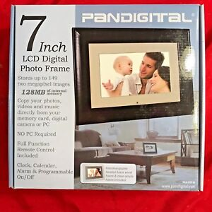 Pandigital Pan707 7 Lcd Digital Picture Photo Frame With Remote