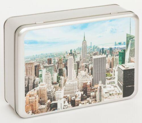 Fotoalbum Fotobox Schachtel Blechbox New York Nr.41 Motiv für Ihre Bilder
