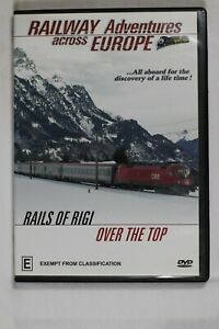 Railway Adventures across Europe Rails of Rigi Over the Top Reg 0 Preowned (D755