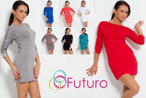 Stunning-amp-Elegant-Lace-Dress-with-Zircons-Tunic-Style-Size-8-12-HQ-4079