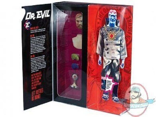 Captain Action Dr. Evil Deluxe Figure by Round Two