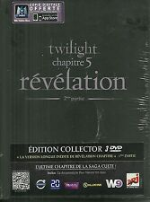 COFFRET 3 DVD - TWILIGHT REVELATION avec ROBERT PATTINSON, KRISTEN STEWART /NEUF