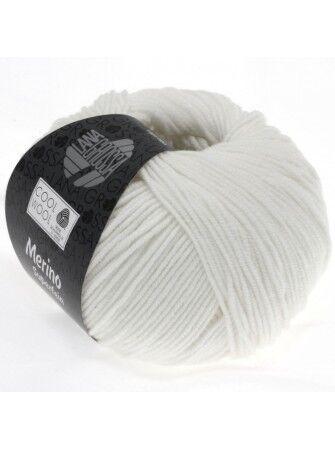 Cool Wool Merino superfein Lana Grossa FB 431 Blanc