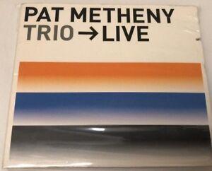Trio-Live-by-Pat-Metheny-Warner-Bros-CD-Nov-2000-2-Discs-Sealed-Brand-New
