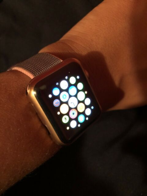 Apple Watch Series 3 38mm Gold Aluminium Case With Pink Sand Sport Loop Gps Cellular Mqju2ll A For Sale Online Ebay