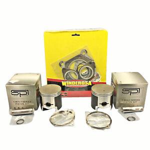 72-25mm-25-SPI-Pistons-Joints-1986-1998-Polaris-488-Indy-Supertrak-Trail