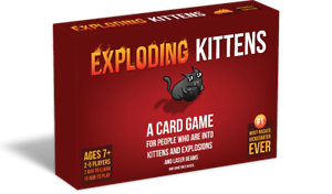 First Edition. Exploding Kittens Card Game
