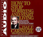 How to Stop Worrying and Start Living by Andrew Macmillan, Dale Carnegie (Audio cassette, 2000)