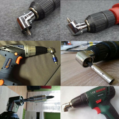 1X 105 Degree Hex Magnetic Screwdriver Angled Right Angle Drill Supplies New 889
