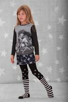 Stars And Stripes Tights By Paper Wings - Girls Size 2-3, 8-10 Boutique