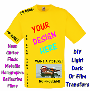Personalised-Iron-on-transfer-or-garment-film-your-own-design-or-photo-T-shirt