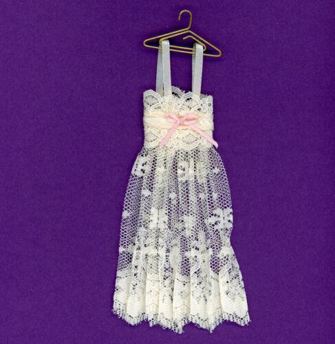 Dollhouse Miniature Ladies Ecru Nightgown by Dollhouse Alley
