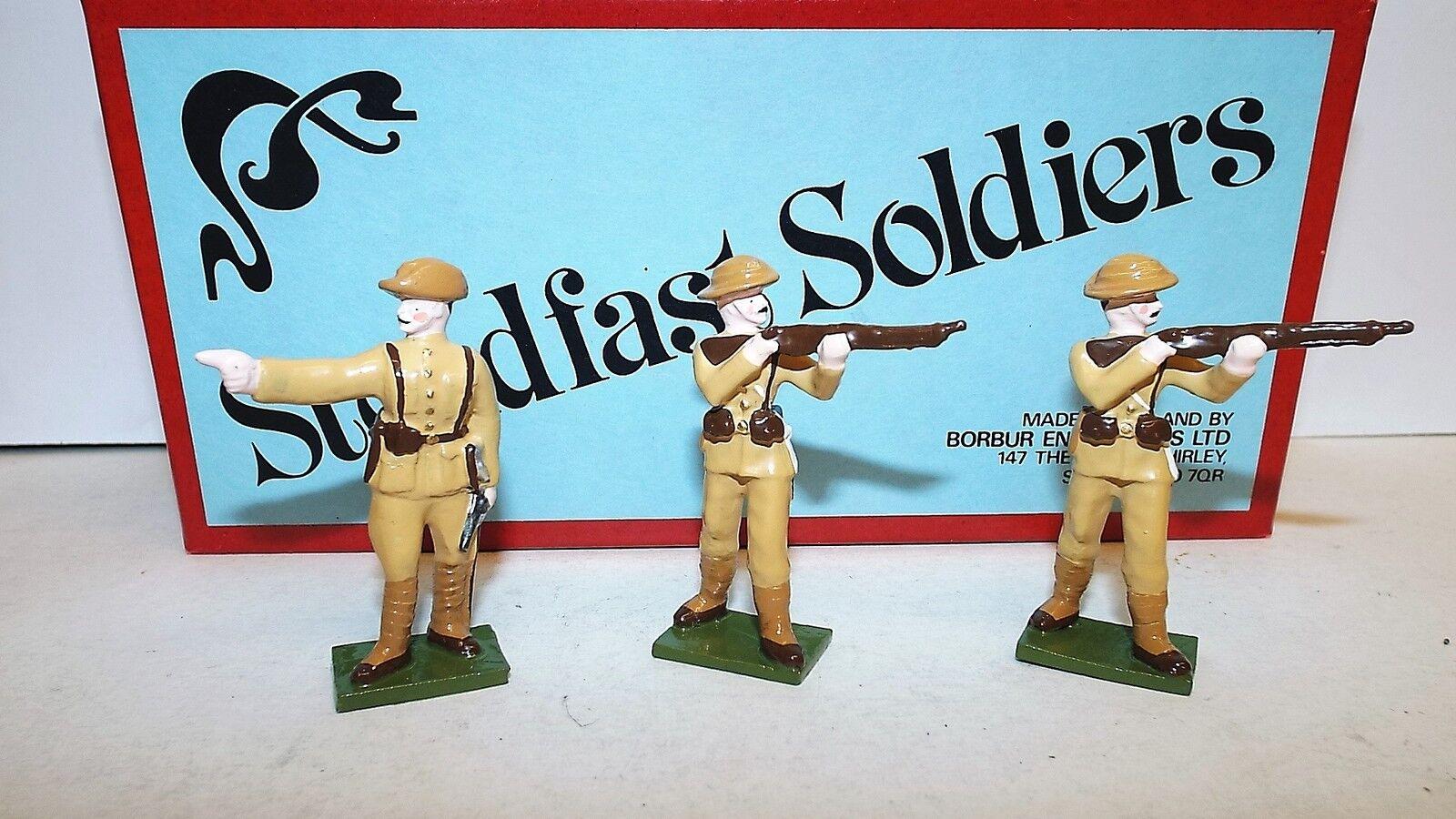 STEADFAST SOLDIERS SET SF39 3 PIECE SOLDIER SET UNKNOWN REGIMENT BOXED (BS628)