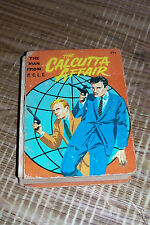 The Man From Uncle Calcutta Affair A Big Little Book Old Vintage George S Elrick