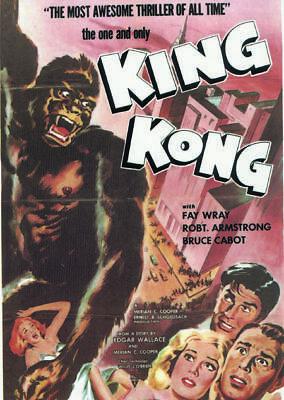 King Kong Fay Wray 1933 Vintage movie poster item 9