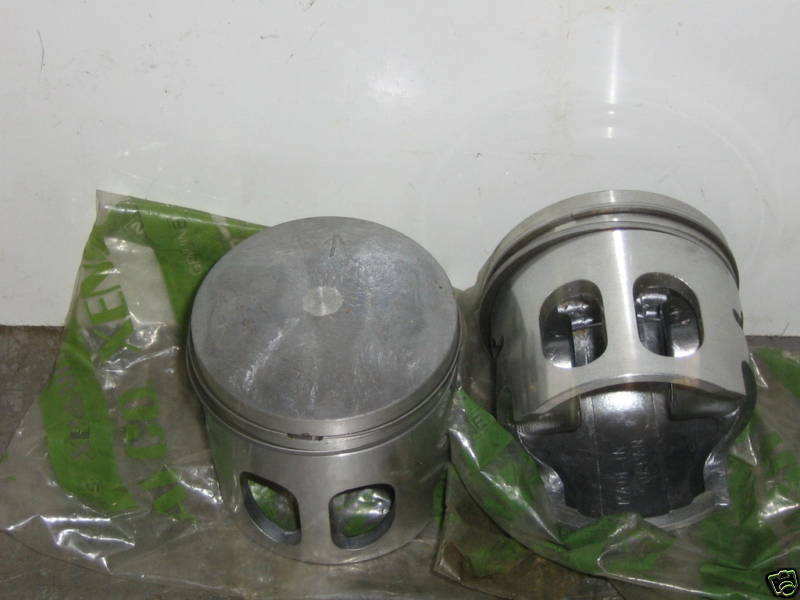Vintage chaparral 340 LQ pistons and rings+.50mm oversize bore free shipset of 2