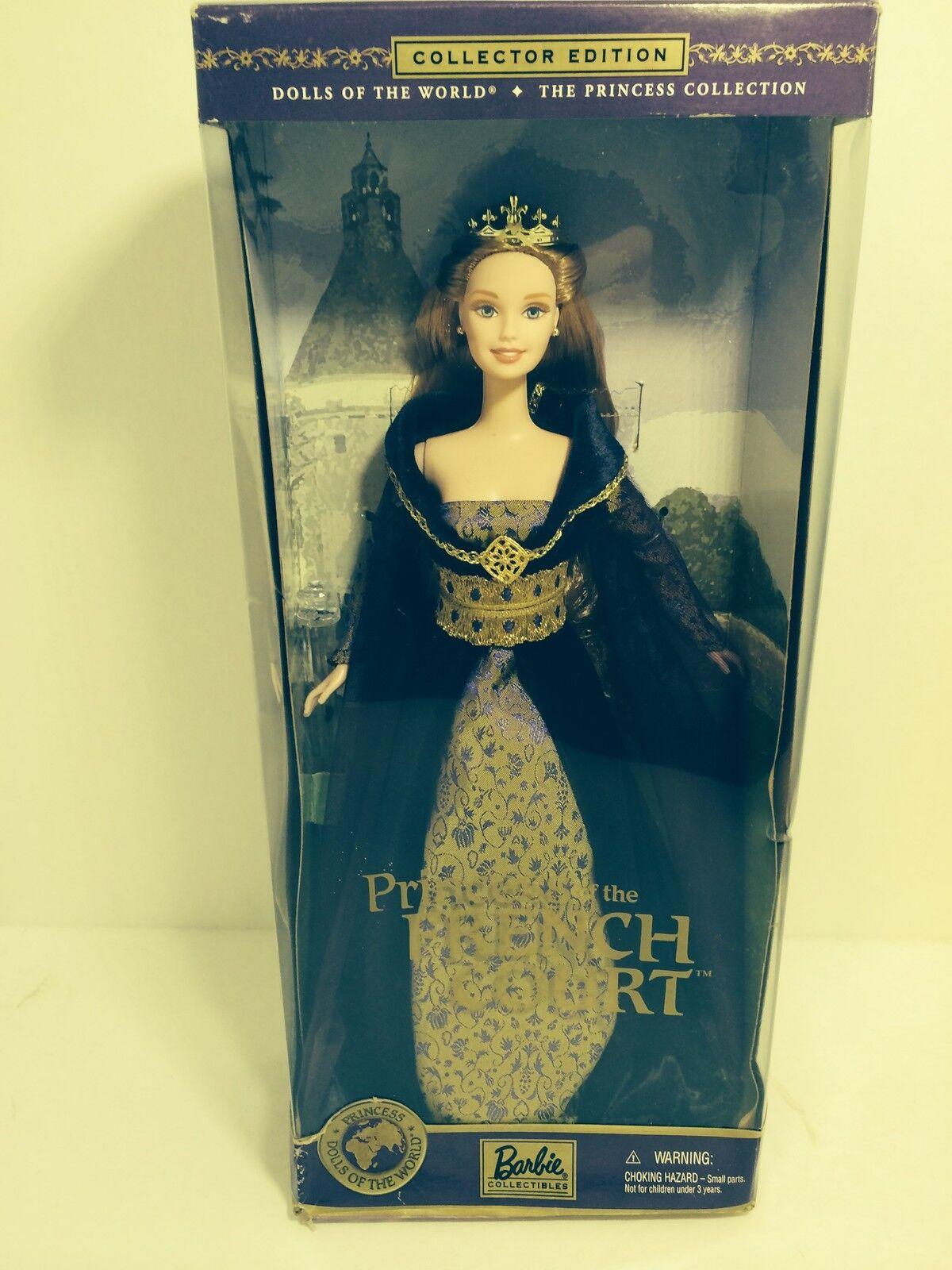 2000 2001 Princesa De La Corte Francesa Muñecas Del Mundo De Barbie Nuevo En Caja Nuevo En Caja