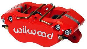 "WILWOOD DYNALITE BRAKE CALIPER,DRAG RACE,.810/"",1.38,RED"
