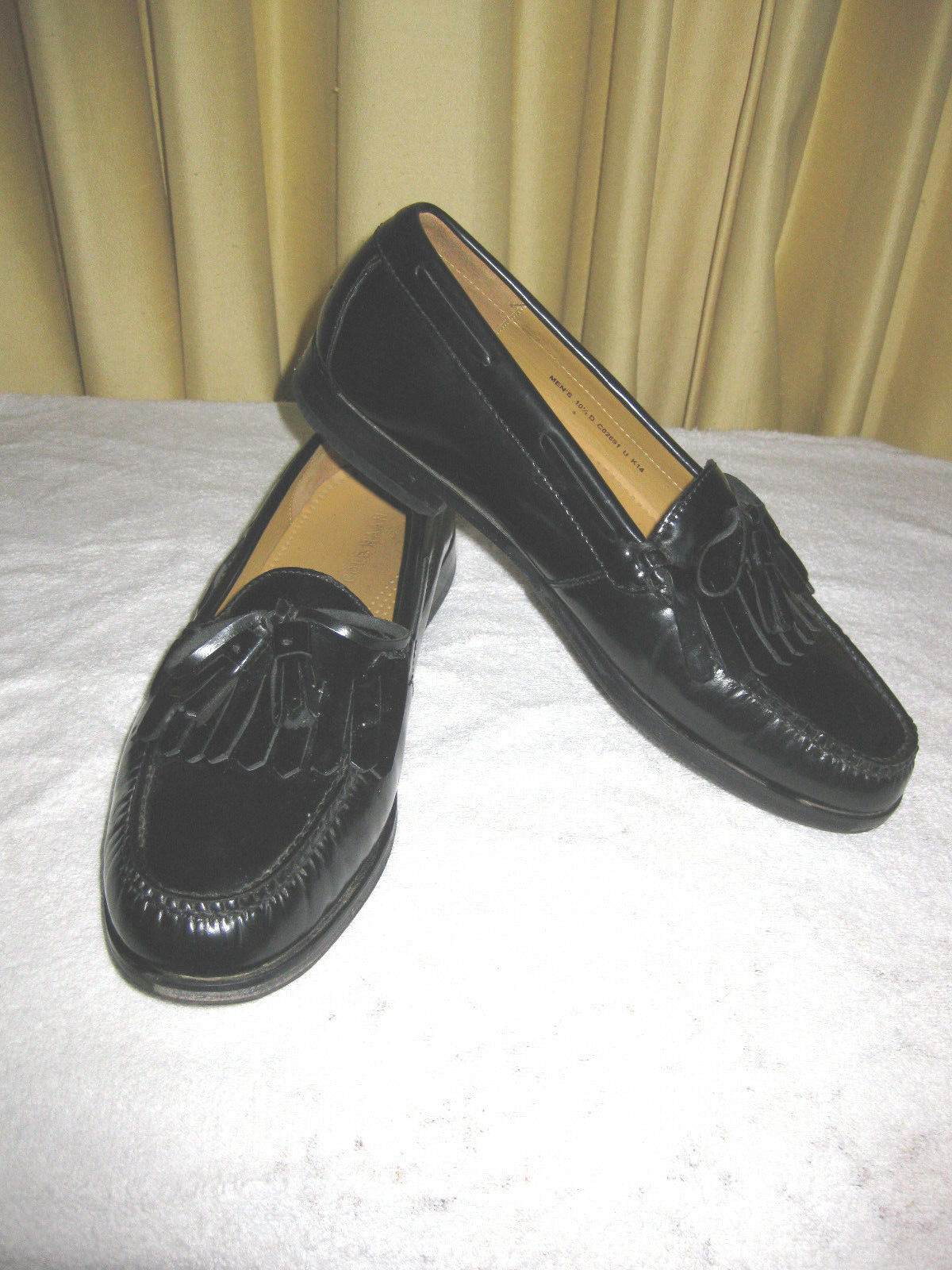 Cole Haan Pinch Shawl Bow II D Uomo   10.5 D II Nero Loafer CO2691 5ade0a