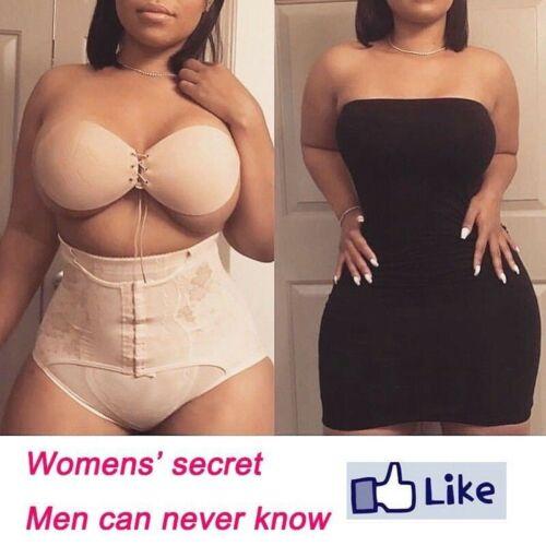 Womens Magic High Waist Slimming Knickers Briefs Firm Tummy Control Underwear UK