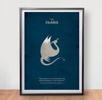 LORD OF THE RINGS HOBBIT Movie Poster Film Vintage Art Retro Print Home Decor