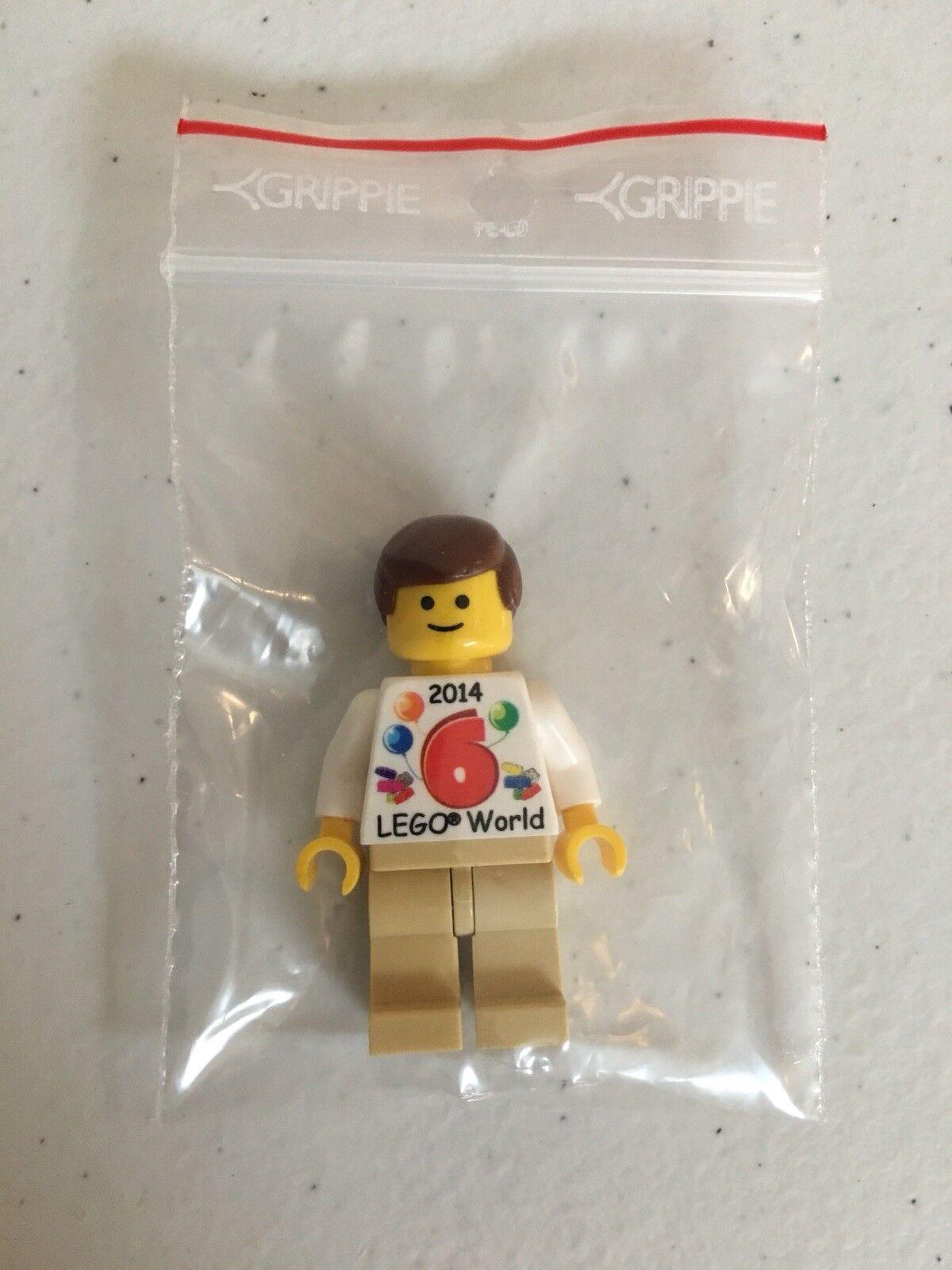 LEGO Rare LEGO Promo Exclusive Denmark Figure w  Torso LEGO WORLD 2014  6