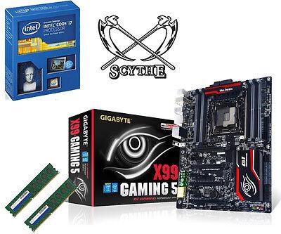 Bundle Intel Core i7 5930K-16GB PC2133 DDR4-Gigabyte GA-X99-Gaming5-Scythe