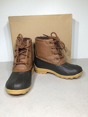Tan//Brown Sperry Top-Sider Port Boot 11M