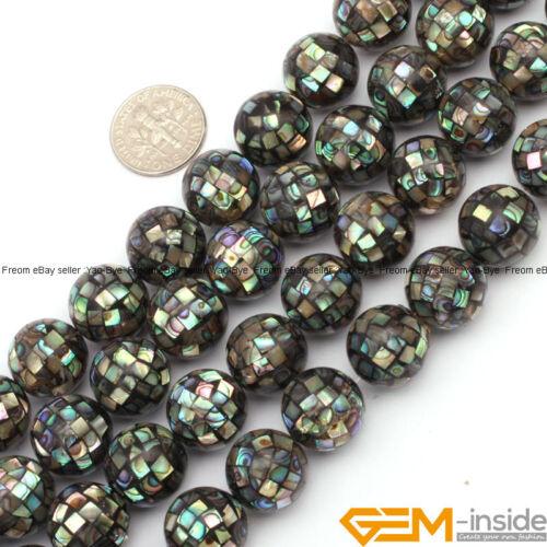 Abulón cuentas de cáscara de fabricación de joyería de Piedras Preciosas Sueltas cuentas 2 y 6 un yao-bye