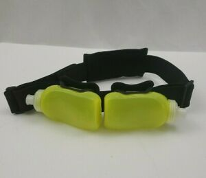Amphipod-Hydration-Belt-2-Bottle-Zip-Pouch-Black-Green-Running-Hiking
