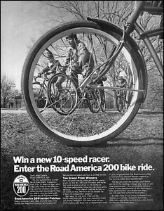 1969 Cadet Road America 200 Bije Ride Bicycles vintage photo print ad adL6