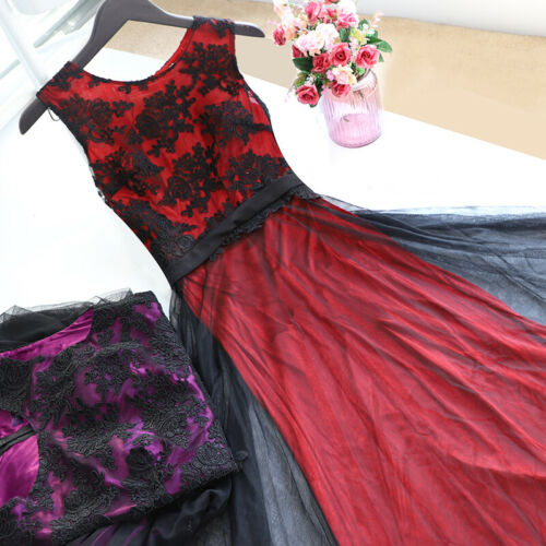 Ever-Pretty US Prom Gowns Long Mesh Mother Of Bride Evening Cocktail Dress 07545