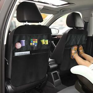 Kick-Mats-Car-Seat-Back-Protector-Organizer-with-5-Compartments-Travel-Accessory