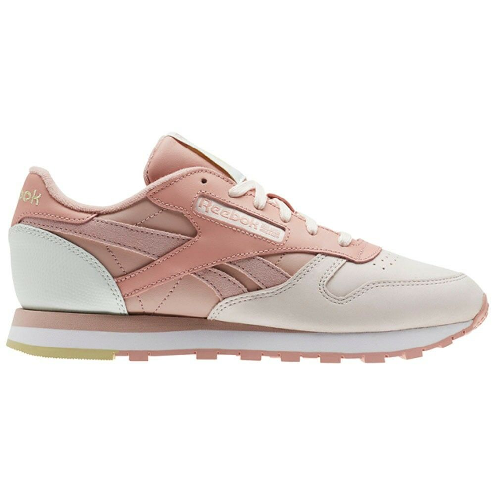 Reebok Classic Leather Pm (PALE PINK SHELL PNK CHLK) Women's shoes CN0361
