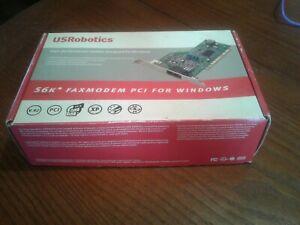 USRobotics 5699B 56K Faxmodem PCI for Windows (V.92) *New Sealed*