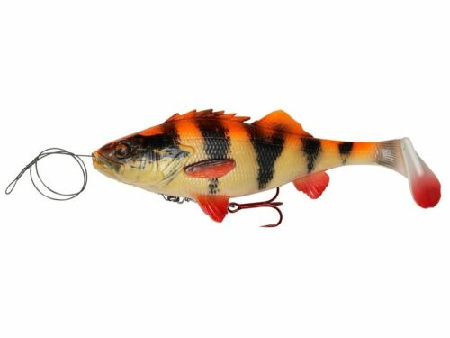 Savage Gear 4D Line Thru Perch Shad 23cm 168g Slow sinking Soft baits NEW 2019