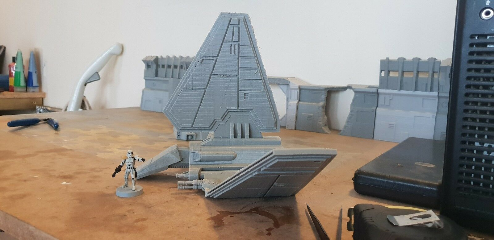 Star wares legion lamba shuttle