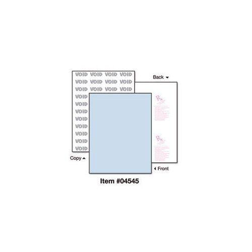 "500 // Ream 8.50/"" X 11/"" Docuguard Security Paper Blue Letter PRB04545"