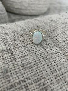 Opal-Oval-Ring-Size-8-5-SS