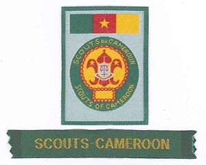 Boy /& Girl Scout National Flag /& Strip Patch SET SCOUTS OF AFRICA ZIMBABWE