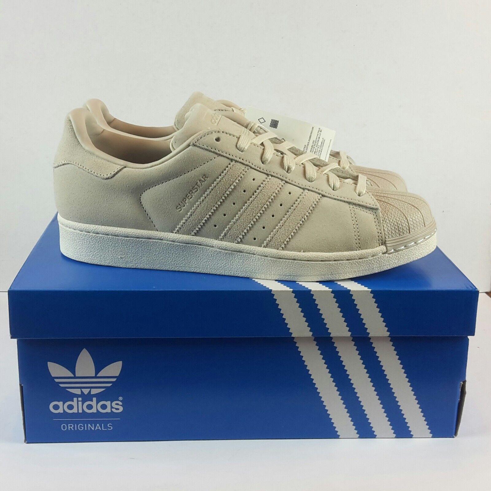 Adidas Originals Superstar Suede Clear Brown Men's Sneakers Comfortable