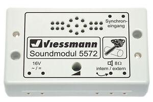 Viessmann-5572-Module-de-Sons-Scie-a-Chaine-Neuf